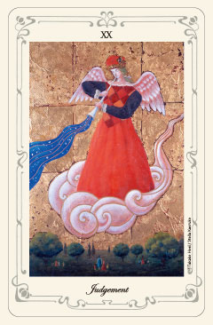 「審判」のタロットカード