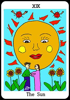 当たる占い師・原宿の母のタロット:太陽