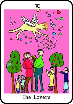 当たる占い師・原宿の母のタロット:恋人